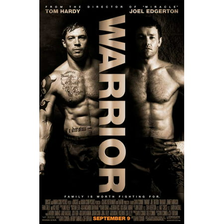 Warrior Poster Movie E 11 x 17 Inches - 28cm x 44cm Tom Hardy Jennifer Morrison Nick Nolte Joel Edgerton Noah Emmerich Bryan Callen Kevin Dunn