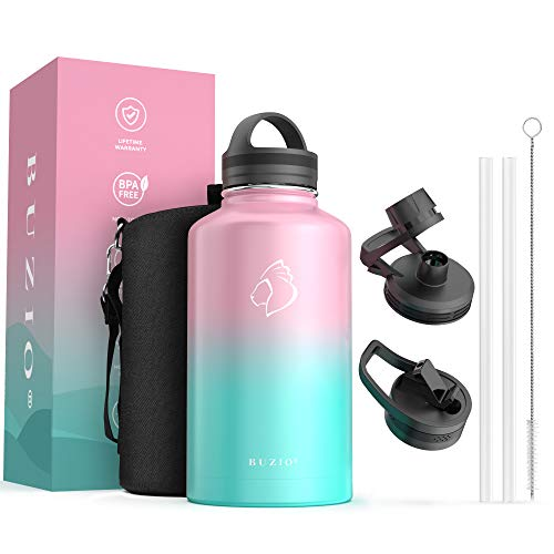 Details about  /The Coldest Half Gallon Water Bottle Jug Baby Gallon Insulated Stainless Steel