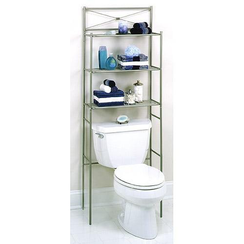 bathroom shelves walmart bath wall shelf pearl nickel