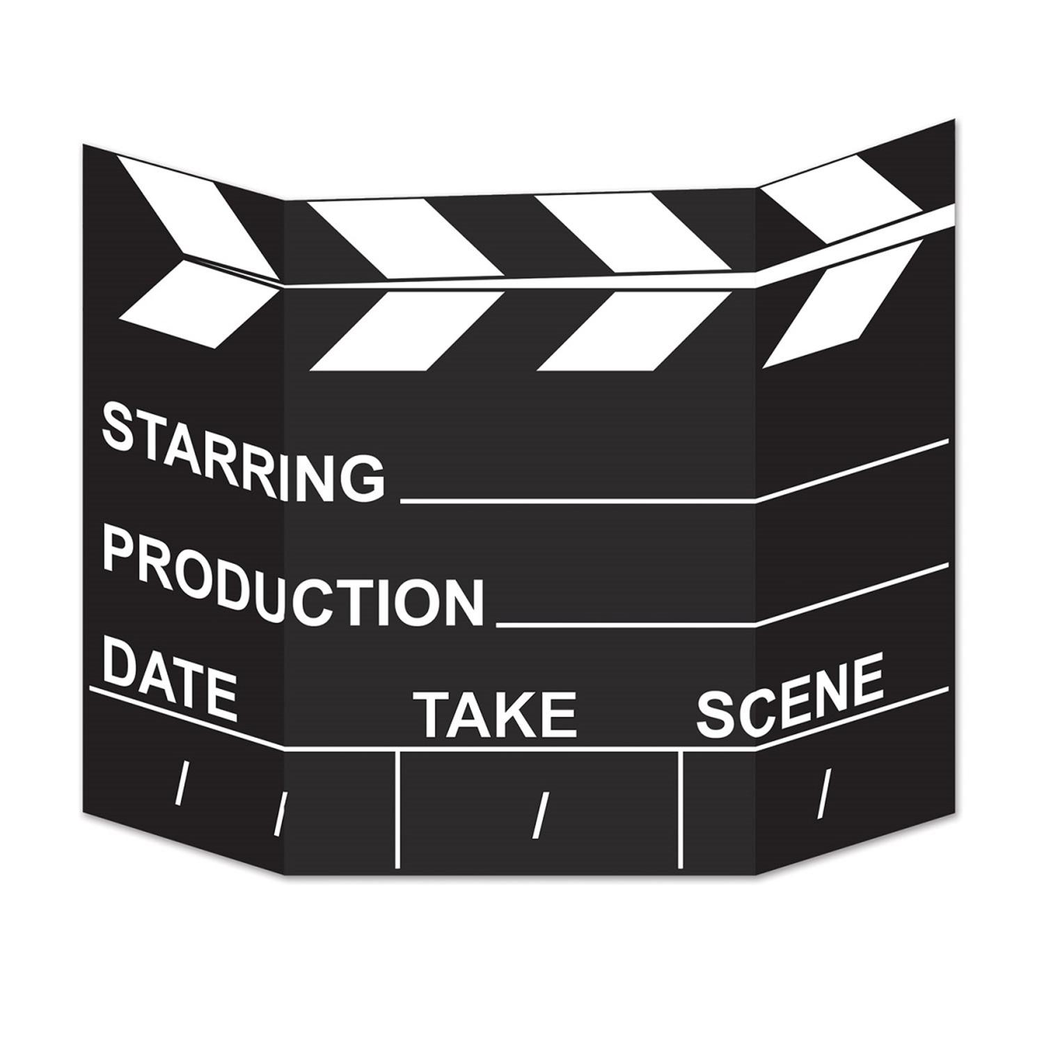 "Pack of 6 Awards Night Movie Set Clapboard Photo Props 27"" x 34.5"""