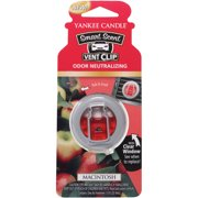 Yankee Candle Smart Scent Vent Clip Macintosh Air Freshener, 0.13 fl oz