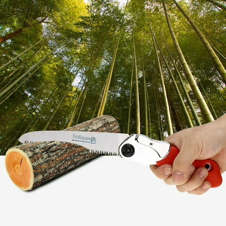 EECOO Gardening Pruning Saw,Foldable Portable Manual Pruning Saw with Anti-slip Handle Outdoor Gardening Tree Cutting Tool Pruning Saw