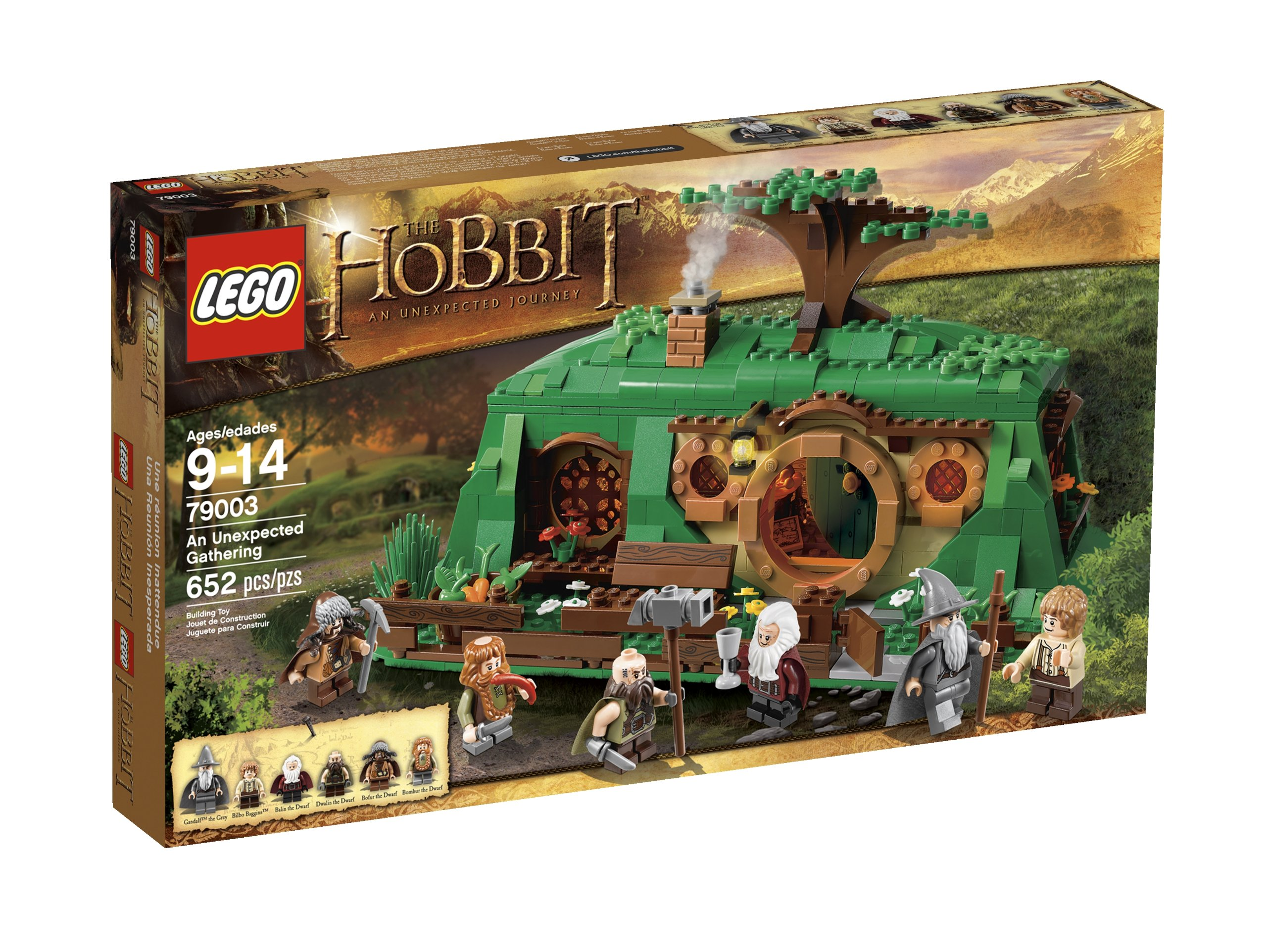 The Gathering 79003 Lego Unexpected An Hobbit E2YWH9ID