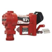"FILL-RITE FR2404G Fuel Transfer Pump, 24VDC, 15 GPM, 1/4 HP, Cast iron, 1"" NPT"