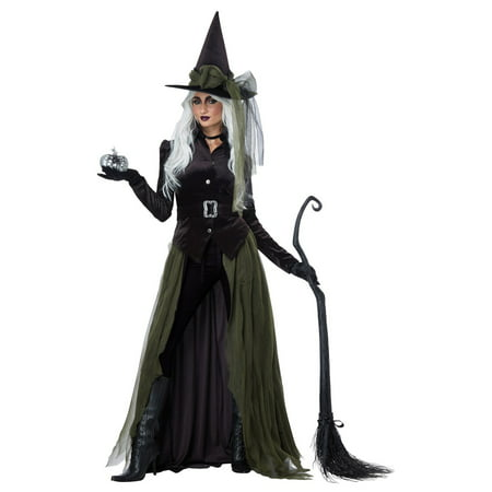 Gothic Witch Women's Halloween Costume](Photos Of Halloween Witch Makeup)