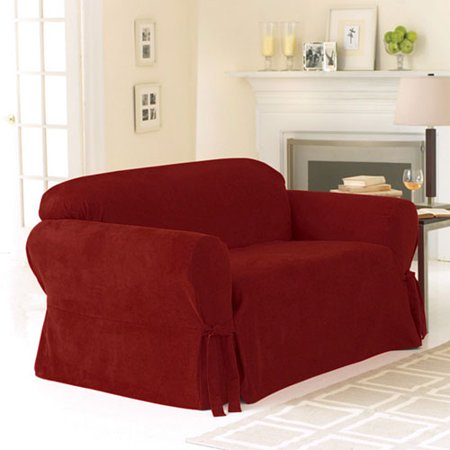 Sure Fit Soft Suede Loveseat Slipcover