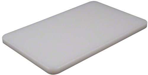 American Metalcraft BB6105 Rectangular Pressed Plastic Cutting Board, White by American Metalcraft