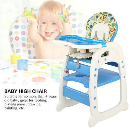 Faginey Infant Baby Feeding Seat Table Set Adjustable Toddler