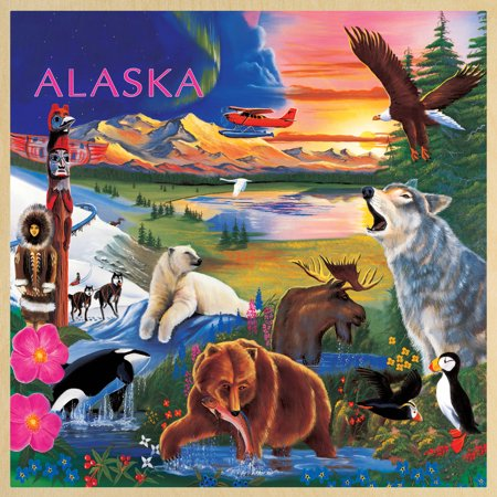 MasterPieces Alaska Wildlife 48 Piece Puzzle](Wildlife Puzzles)
