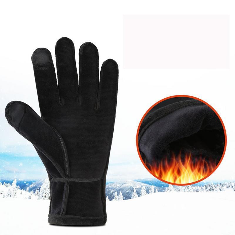 Vbiger Unisex Outdoor Gloves Touch Screen Anti-slip Gloves
