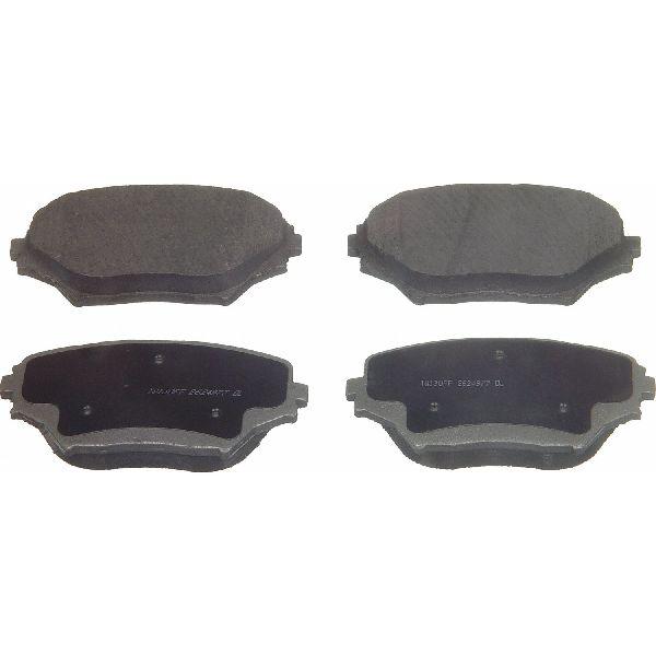 Front D862 Ceramic Brake Pads 2001 2002 2003 2004 2005 TOYOTA RAV4