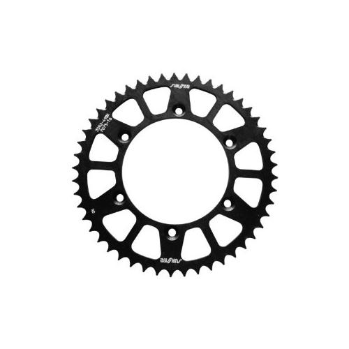 Sunstar Aluminum Works Triplestar Rear Sprocket 53 Tooth Black Fits 07-08 KTM 144 SX