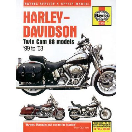 Harley-Davidson Twin CAM 88 Models '99 to '03