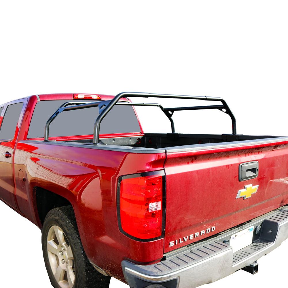 Tuff Stuff Ts Ubr Pdr 40 Black Pc 40 Rooftop Tent Truck Bed Rack Adjustable Walmart Com Walmart Com