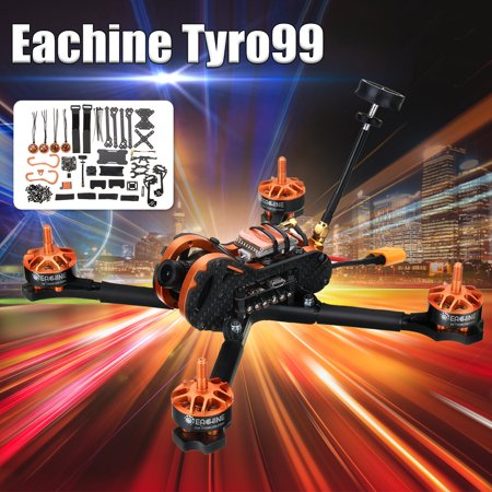 Eachine Tyro99 210mm 5 8G 40CH 600mW DIY Version FPV Racing RC Drone F4 OSD  30A BLHeli_S VTX 700TVL Camera