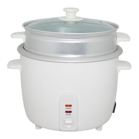 Wee's Beyond Electric Rice Cooker with Steamer Cup
