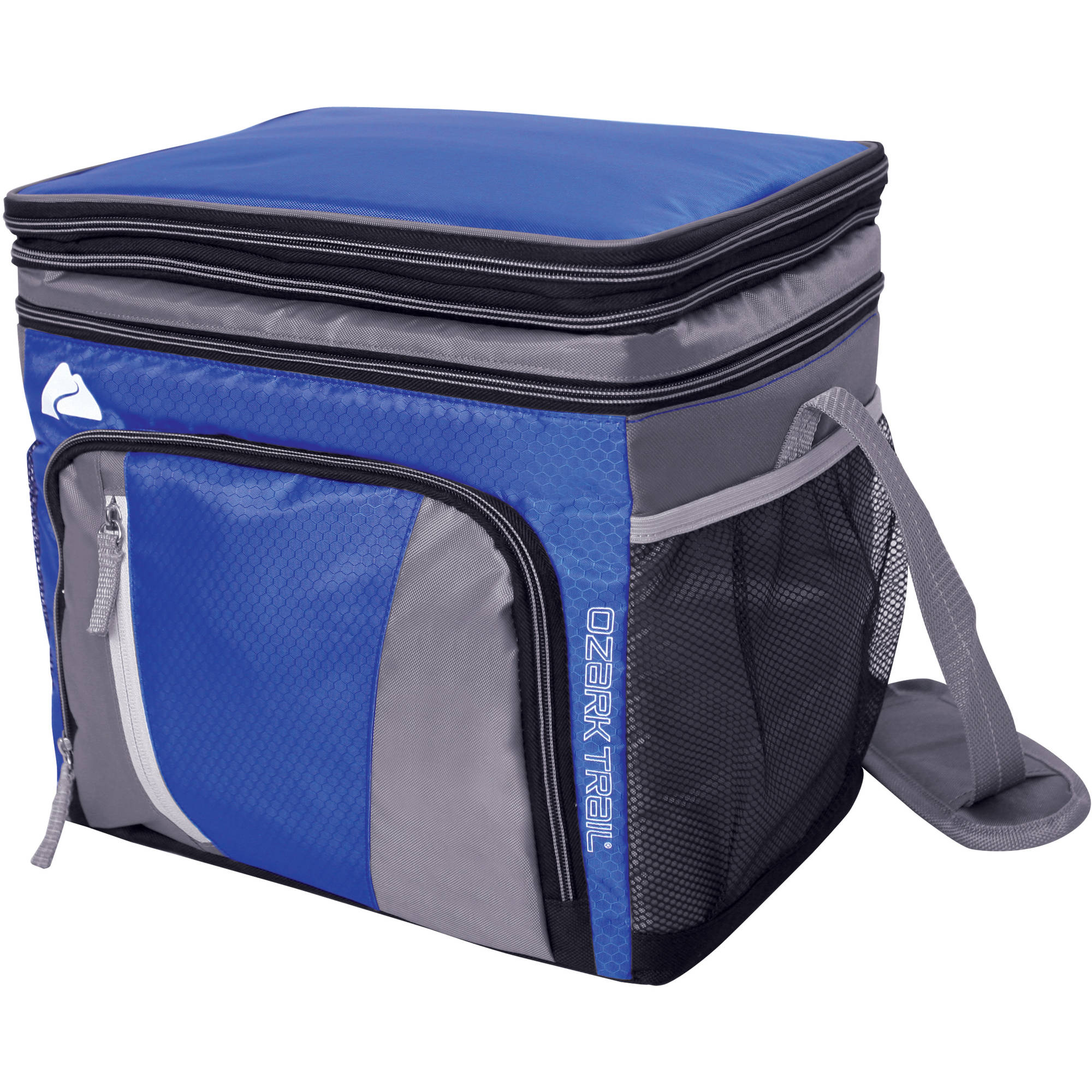 Ozark Trail 24-Can Cooler with Removable Hardliner, Blue