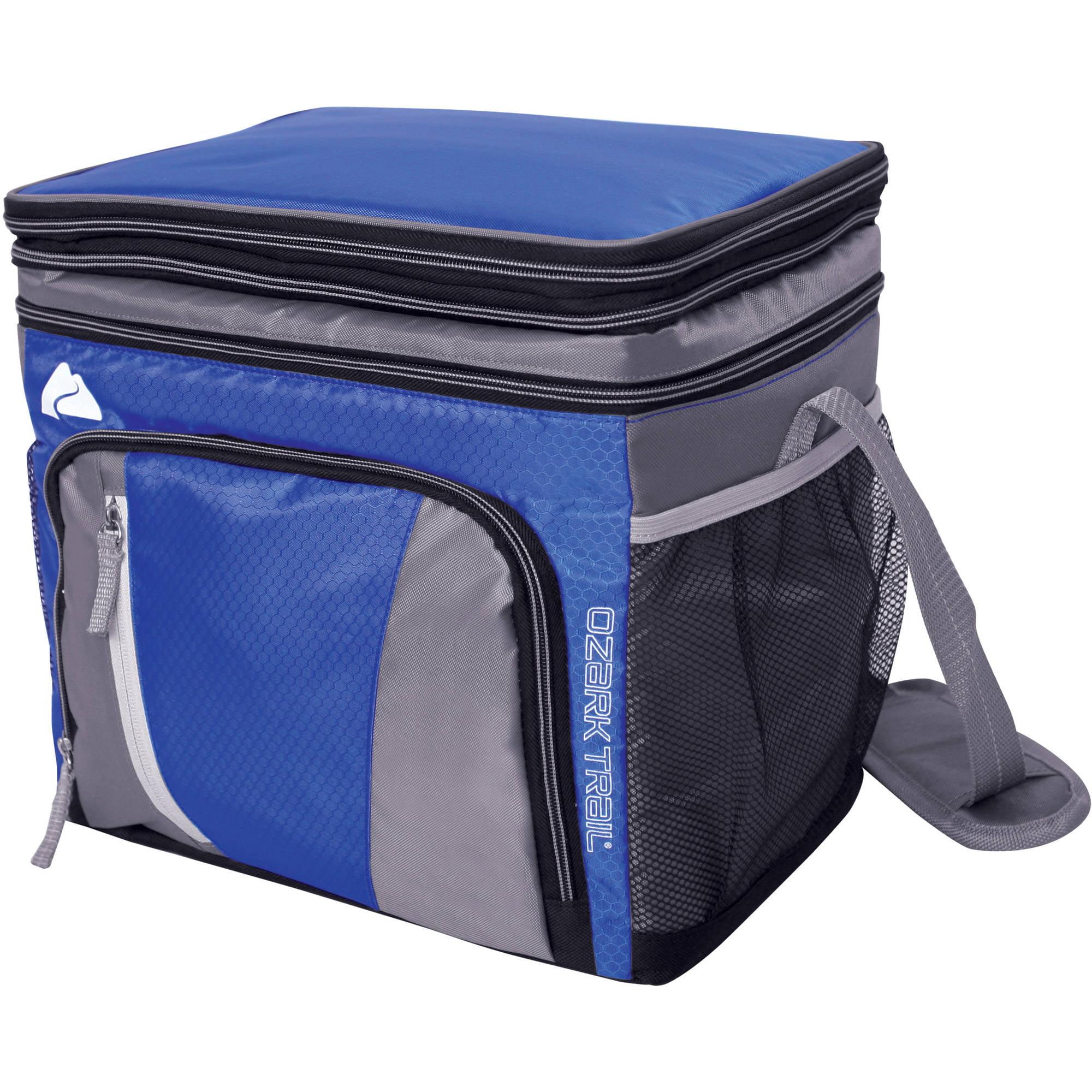 Ozark Trail 24-Can Cooler with Removable Hardliner, Blue