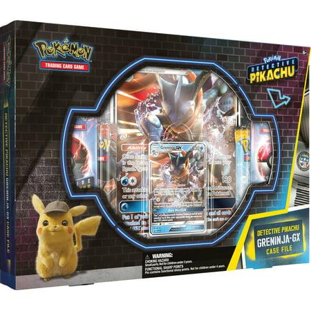 Detective Pikachu Greninja-Gx Case File: Pokemon TCG: 2 Greninja Foil Trading Cards + 7 Booster Pack](Trading Pokemon)