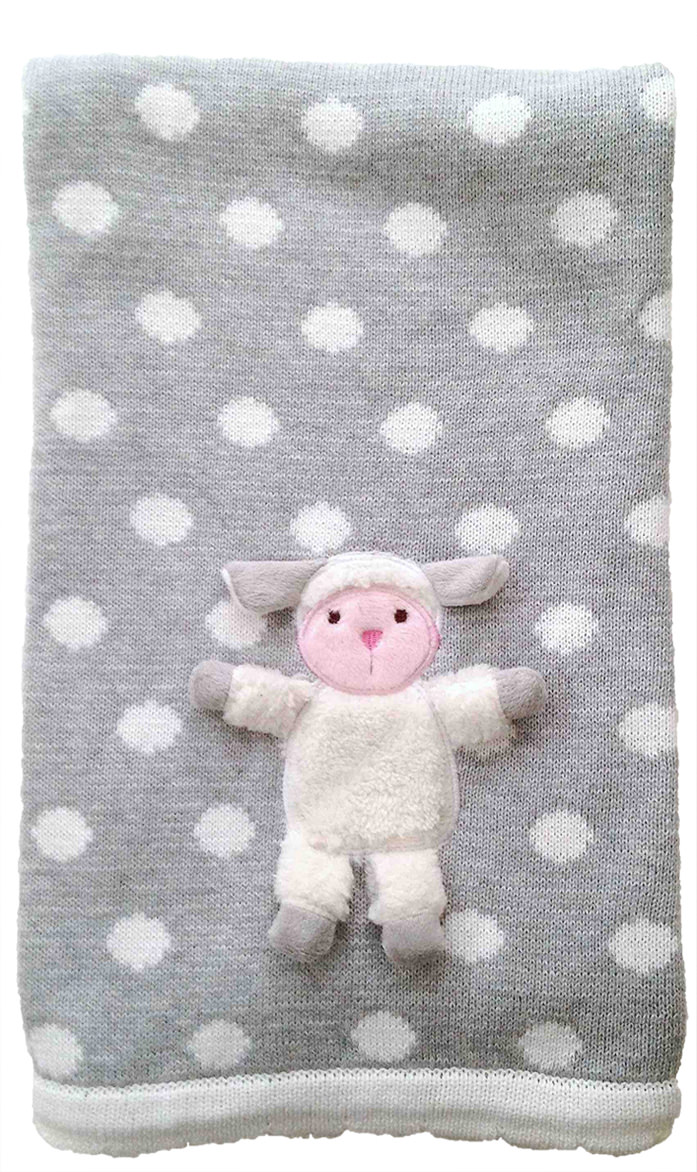 """The Little Acorn """"Lamby Playmate Blanket"""" by The Little Acorn"""