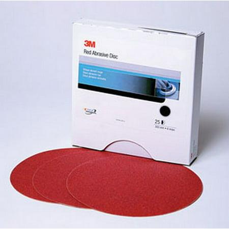 3M 1105 Red Abrasive Stikit Disc, 6 in, P800, 100 discs per (P220 Red Abrasive)