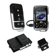 Omega Car Electronics AL20753DBL Excalibur 1 Mile Color 2 Way Security & Remote Start Alarm Combo
