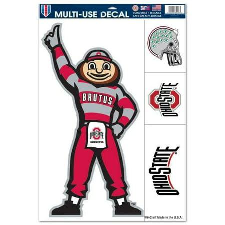 "Ohio State Buckeyes 11""x17"" Ultra Decal Sheet - Mascot"