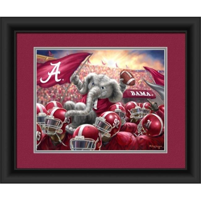 Alabama Crimson Tide Celebration Print 15''x18''
