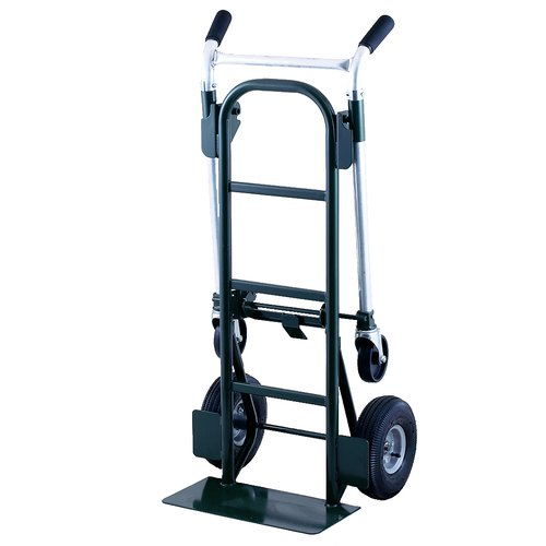 "Harper Trucks 900 lb Steel Quick-Release Convertible Hand Truck with 10"" Pneumatic... by Harper Trucks Inc"