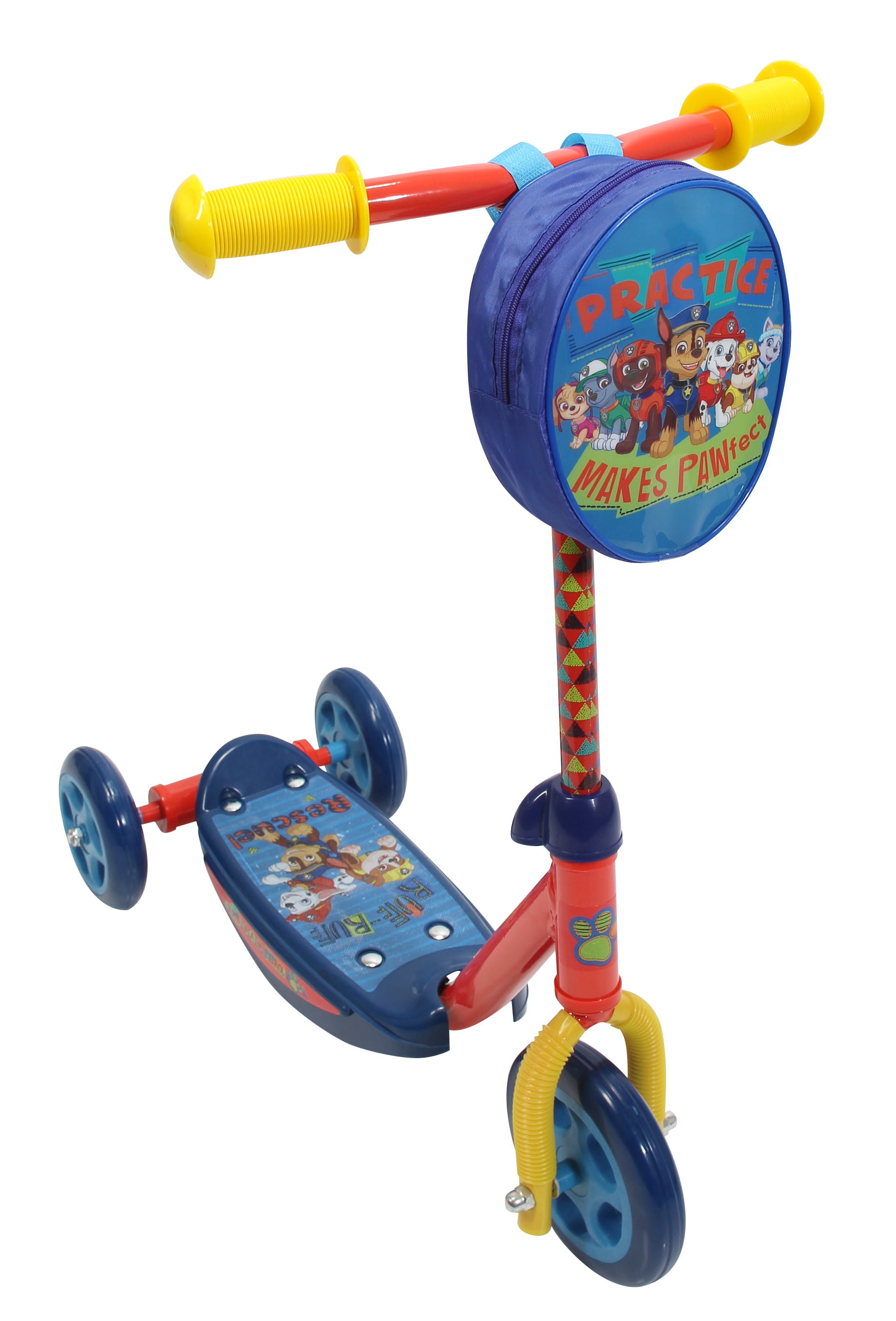 Playwheel Paw Patrol 3-Wheel Kick Scooter by Bravo Sports