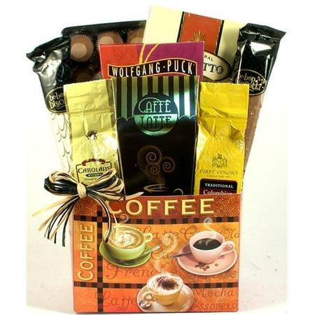 Gift Basket Village ViCa-Med Village Caffe Coffee Lovers Gift Basket