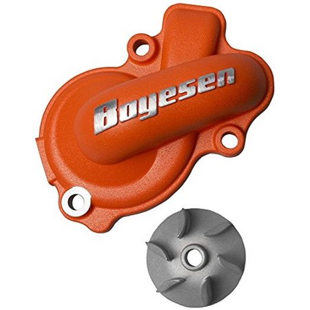 Boyesen WPK-45O Orange Supercooler Water Pump Cover and Impeller (Impeller Pump Cover)