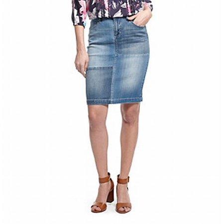 622e1454ae Vintage America Blues - Vintage America Blues NEW Blue Women Size 8 Straight  Pencil Denim Skirt - Walmart.com