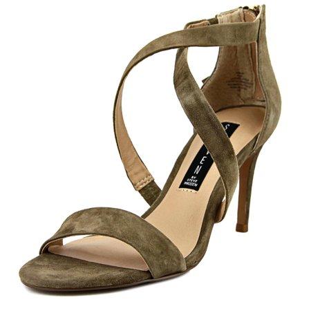 Steven Steve Madden Nahlah Women  Open Toe Suede Tan Sandals ()