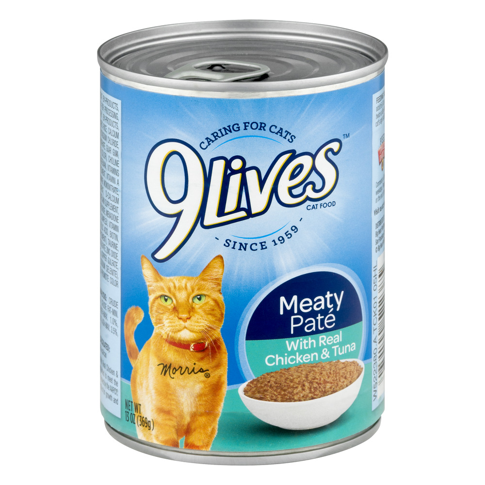 Image of 9Lives Cat Food Meaty Pate, 13.0 OZ