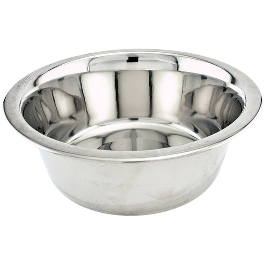 Economy Stainless Steel Dish, 1qt
