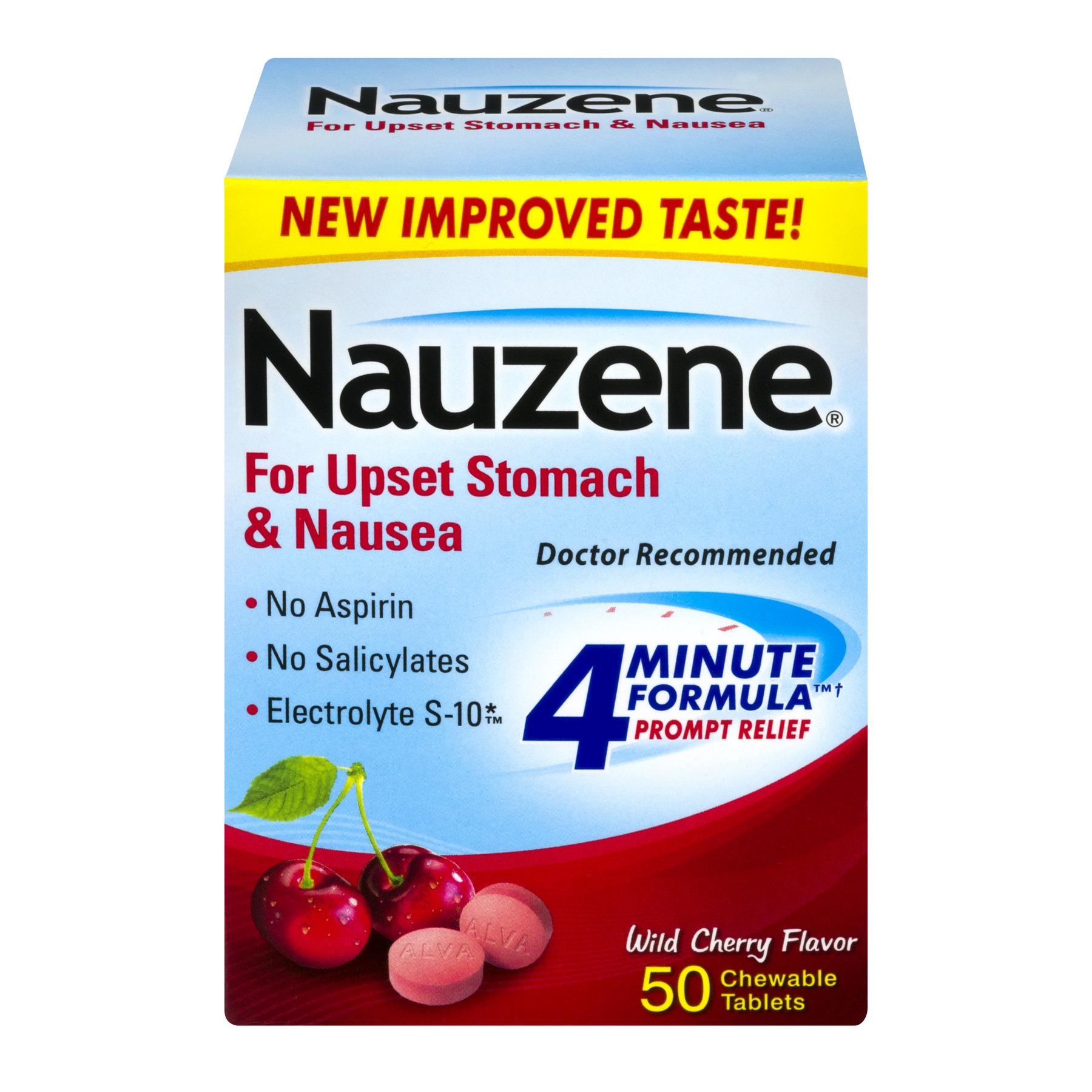 Alva Amco Nauzene  Chewable Tablets, 50 ea