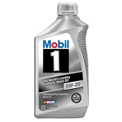 Mobil 1 5W-20 Full Synthetic Motor Oil, 1 qt.