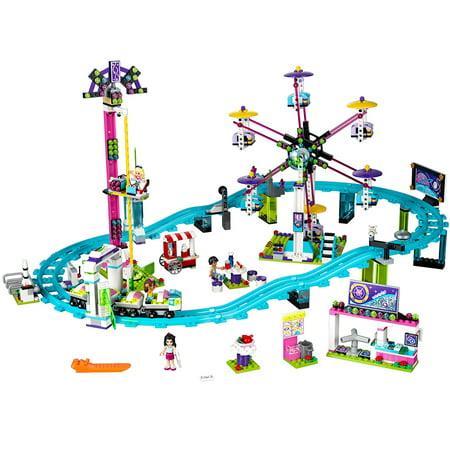 Lego Lego Friends Amusement Park Roller Coaster 41130