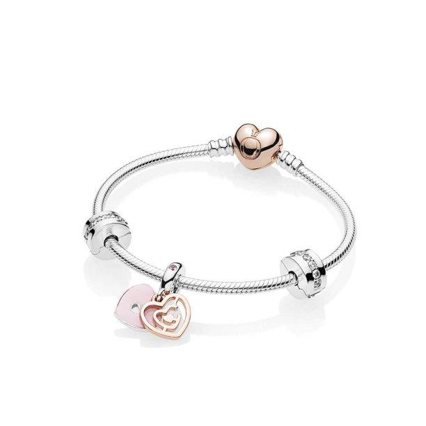 PANDORA Fun In Love Bracelet Gift Set