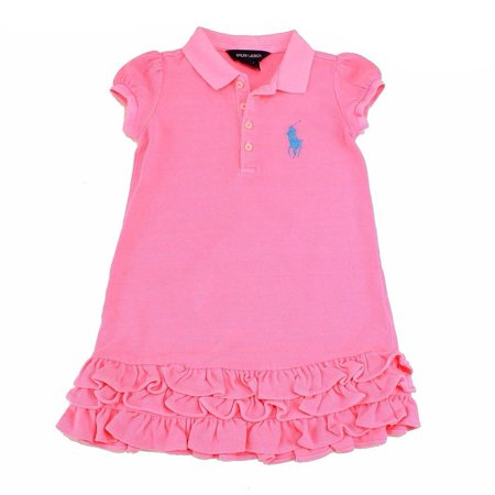 6b68e00fa6 Polo Ralph Lauren - Polo Ralph Lauren Infant Girl's Neon Cotton ...
