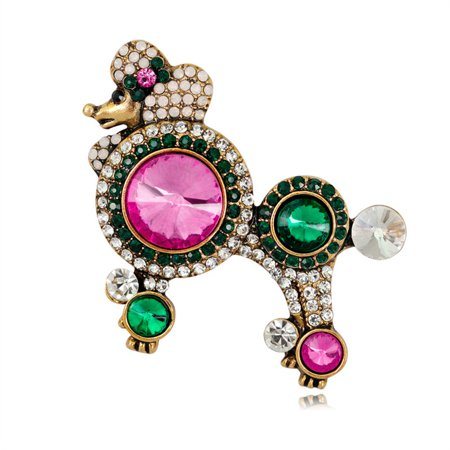 Charming Vintage Pin Brooch Pins Exquisite Collar For Women Dance AL355-A - image 1 de 8