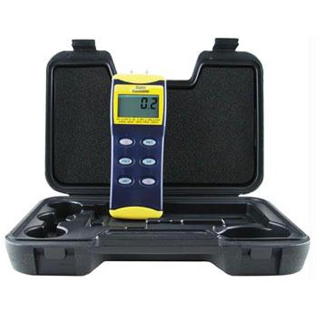 General Tools Deluxe Digital Manometers