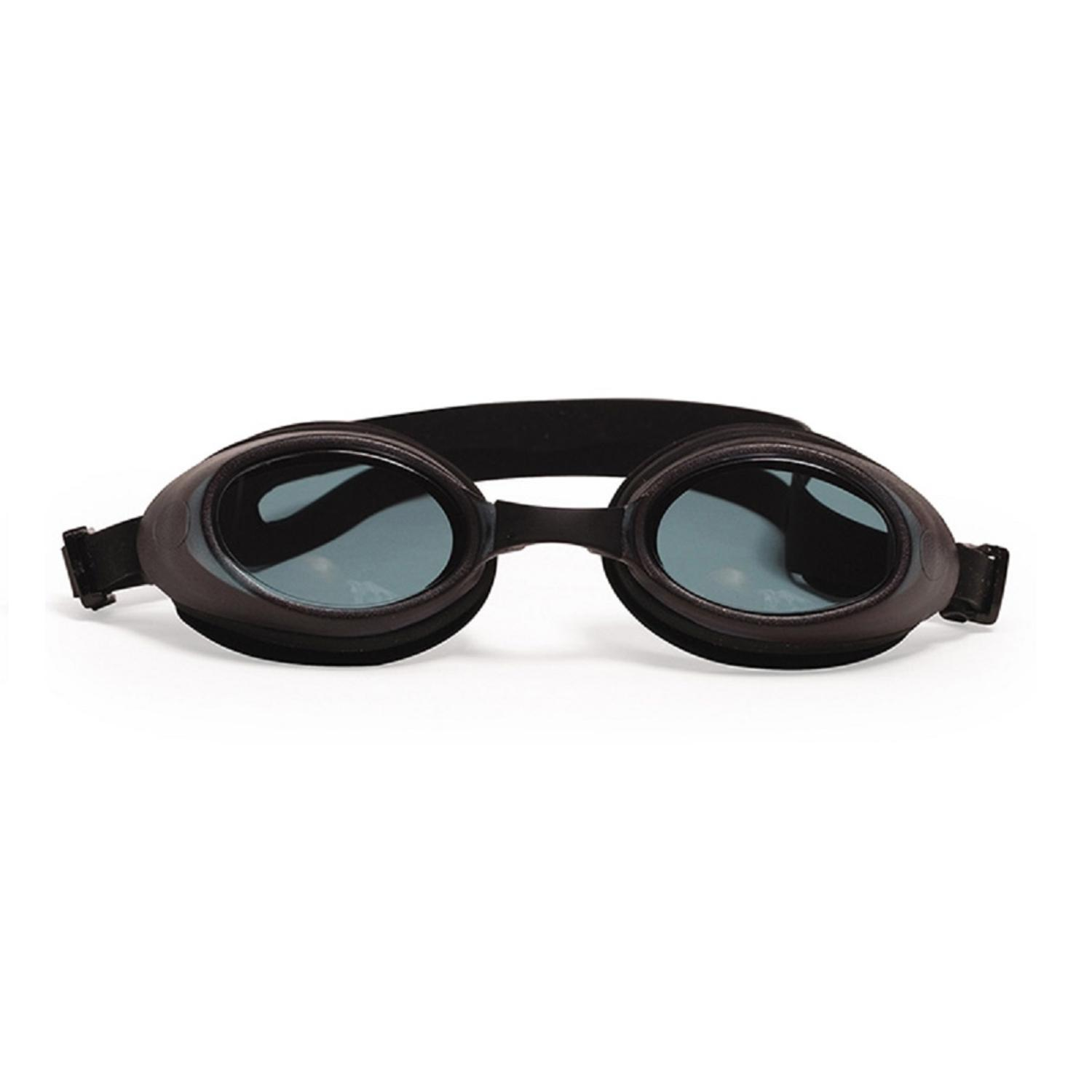 """6"""" Black Pro Swim Goggles Swimming Pool Accessory for Children by Pool Central"""