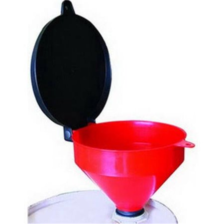 4 qt Heavy Duty Threaded Funnel with LID