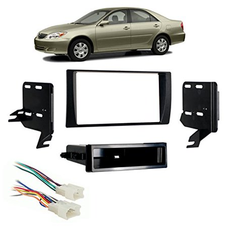 Fits Toyota Camry 2002-2006 Multi DIN Stereo Harness Radio Install Dash Kit, Fits Toyota Camry 2002-2006 Multi DIN Stereo Harness Radio Install Dash Kit By Harmony Audio (By Dash)