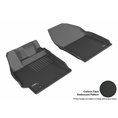 Scion Xb Suv (3D MAXpider 2013-2015 Scion xB Front Row All Weather Floor Liners in Black with Carbon Fiber)