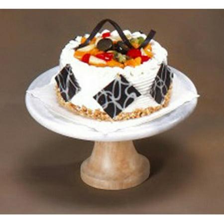 Creative Home Taj Elite 10 in. Footed Cake Stand