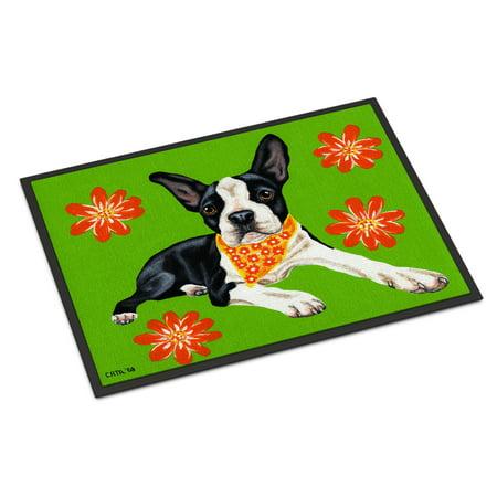 Cosmo Cutie Boston Terrier Door Mat (Boston Terrier Door Mat)