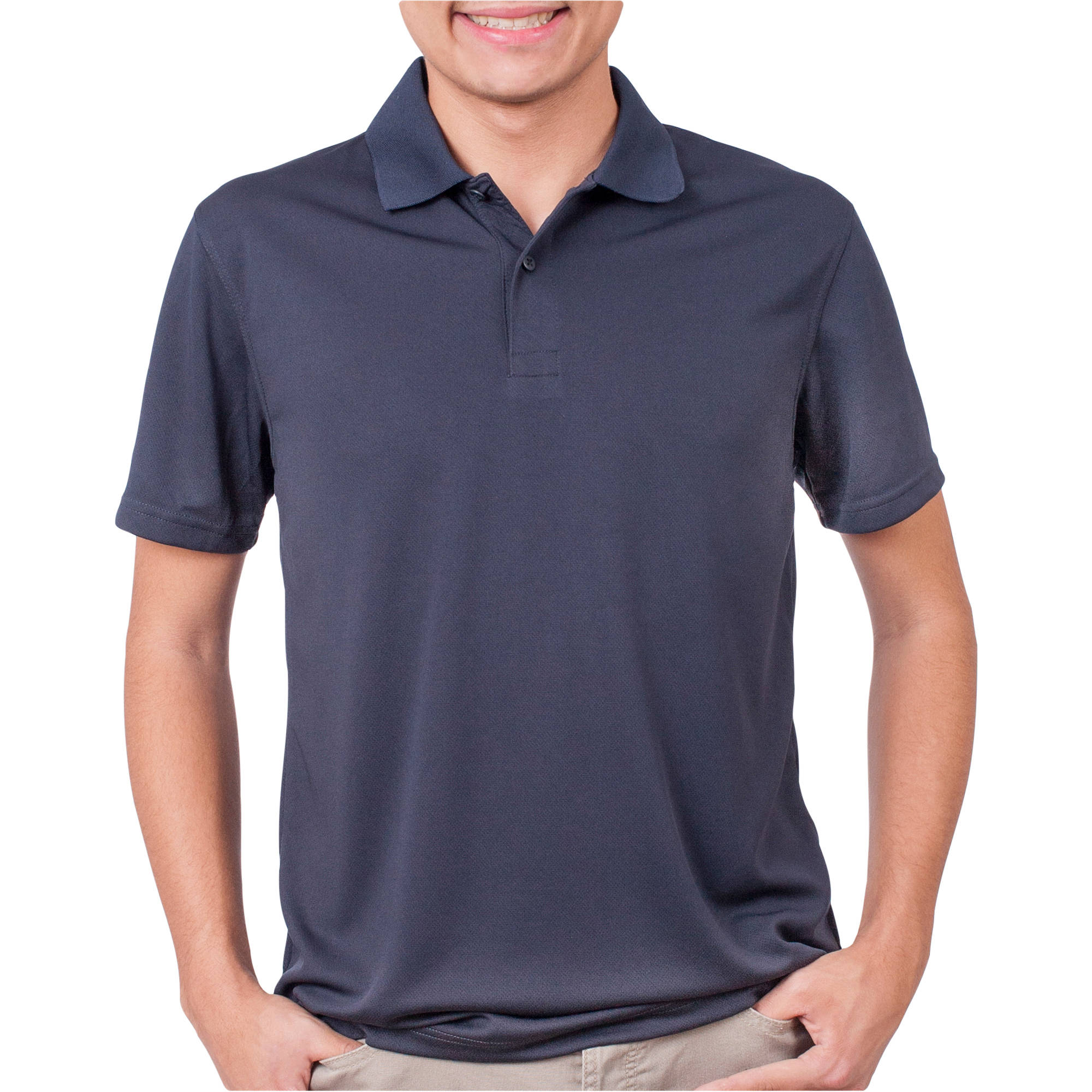 George Young Men's Short Sleeve Performance Polo
